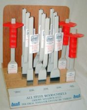 Ansell All Steel Wood Chisels